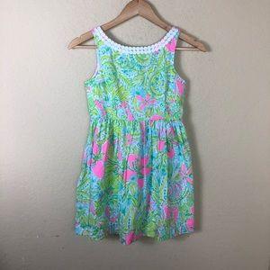 Lilly Pulitzer Riselda fit & flare floral dress 12